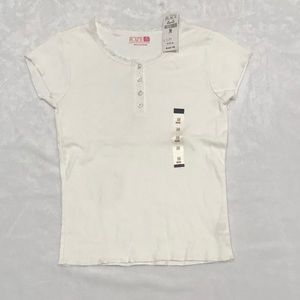 NWT kids white tee shirt